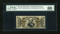 Fractional Currency:Third Issue, Fr. 1324 50c Third Issue Spinner PMG Gem Uncirculated 66 EPQ....