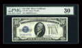Small Size:Silver Certificates, Fr. 1700 $10 1933 Silver Certificate. PMG Very Fine 30.. ...