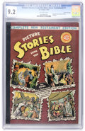 Golden Age (1938-1955):Religious, Picture Stories from the Bible (New Testament) #1 Gaines Filepedigree #10/12 (EC, 1945) CGC NM- 9.2 Off-white pages....