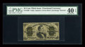Fractional Currency:Third Issue, Fr. 1299 25c Third Issue PMG Extremely Fine 40 EPQ....