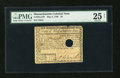 Colonial Notes:Massachusetts, Massachusetts May 5, 1780 $2 PMG Very Fine 25 Net....