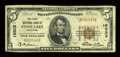 National Bank Notes:Wisconsin, Stone Lake, WI - $5 1929 Ty. 1 The First NB Ch. # 10322. ...