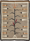 Other, A NAVAJO PICTORIAL RUG. c. 1925...