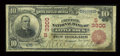 Little Rock, AR - $10 1902 Red Seal Fr. 613 The Exchange NB Ch. # (S)3300