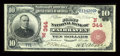 National Bank Notes:Vermont, Fair Haven, VT - $10 1902 Red Seal Fr. 613 The First NB Ch. # (N)344. ...