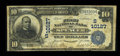 National Bank Notes:West Virginia, Spencer, WV - $10 1902 Date Back Fr. 620 The First NB Ch. #(S)10127. ...