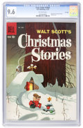 Silver Age (1956-1969):Humor, Four Color #1062 Walt Scott's Christmas Stories - File Copy (Dell, 1959) CGC NM+ 9.6 Off-white pages....