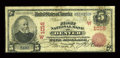 National Bank Notes:Colorado, Denver, CO - $5 1902 Red Seal Fr. 587 The First NB Ch. # (W)1016....