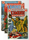 Bronze Age (1970-1979):Science Fiction, Kamandi, the Last Boy on Earth Group (DC, 1972-78) Condition:Average FN/VF.... (Total: 51 Comic Books)