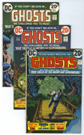 Bronze Age (1970-1979):Horror, Ghosts Group (DC, 1973-78) Condition: Average VG/FN.... (Total: 40Comic Books)