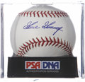 Autographs:Baseballs, Goose Gossage Signed Baseball PSA Mint 9....