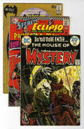 Silver Age (1956-1969):Horror, House of Mystery/House of Secrets Group (DC, 1966-79) Condition:Average VG.... (Total: 36 Comic Books)