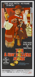 "Movie Posters:Western, For a Few Dollars More (United Artists, 1967). Australian Daybill (13.25"" X 29.5""). Western...."