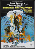 "Movie Posters:James Bond, Diamonds Are Forever (United Artists, 1971). Spanish One Sheet(27.5"" X 39.5""). James Bond...."