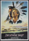 """Movie Posters:Western, Dances With Wolves (Neue Constantin Film, 1991). German A1 (23.25""""X 33""""). Western...."""