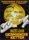 "Movie Posters:War, The Great Escape (United Artists, R-1970s). German A1 (23"" X 33"").War...."