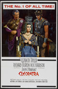 "Movie Posters:Historical Drama, Cleopatra (20th Century Fox, 1963). One Sheet (27"" X 41"") RoadshowStyle B. Historical Drama...."