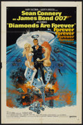 "Movie Posters:James Bond, Diamonds Are Forever (United Artists, 1971). One Sheet (27"" X 41"").James Bond...."