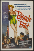 "Movie Posters:Bad Girl, Blonde Bait (Associated Film, 1956). One Sheet (27"" X 41""). BadGirl...."