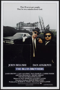 """The Blues Brothers (Universal, 1980). International One Sheet (27"""" X 41""""). Comedy"""