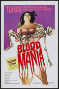 """Movie Posters:Horror, Blood Mania (Crown International, 1970). One Sheet (27"""" X 41""""). Horror...."""