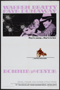 """Movie Posters:Crime, Bonnie and Clyde (Warner Brothers-Seven Arts, 1967). One Sheet (27""""X 41""""). Crime...."""