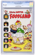 Silver Age (1956-1969):Cartoon Character, Little Lotta Foodland #1 File Copy (Harvey, 1963) CGC NM- 9.2 Off-white to white pages....