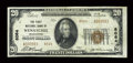 National Bank Notes:Washington, Wenatchee, WA - $20 1929 Ty. 2 The First NB Ch. # 8064. ...