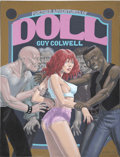 Original Comic Art:Covers, Guy Colwell Further Adventures of Doll Cover Original Art(Kitchen Sink Press, 1994)....