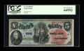 Large Size:Legal Tender Notes, Fr. 64 $5 1869 Legal Tender PCGS Very Choice New 64PPQ....