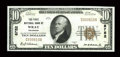 National Bank Notes:Colorado, Wray, CO - $10 1929 Ty. 1 The First NB Ch. # 8752. ...
