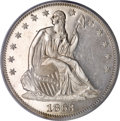 Patterns, 1863 50C Half Dollar, Judd-338, Pollock-410, R.5, PR64 CameoPCGS....