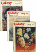 Magazines:Science-Fiction, Galaxy Group (Universal Publishing, 1952-62) Condition: AverageGD+.... (Total: 38 Items)