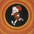 Animation Art:Production Drawing, Elmer Fudd Animation Production Cel Original Art (WarnerBros., undated)....