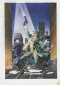 Original Comic Art:Covers, Hector Gomez The Green Hornet #25 Cover Original Art (Now,1993)....
