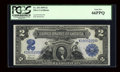 Large Size:Silver Certificates, Fr. 253 $2 1899 Silver Certificate PCGS Gem New 66PPQ....