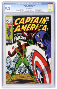 Captain America #117 (Marvel, 1969) CGC NM- 9.2 Off-white pages