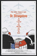 """Movie Posters:Comedy, Dr. Strangelove or: How I Learned to Stop Worrying and Love theBomb. (Columbia, 1964). One Sheet (27"""" X 41""""). Comedy. Starr..."""