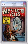 Golden Age (1938-1955):Horror, Mystery Tales #37 White Mountain pedigree (Atlas, 1956) CGC FN 6.0Off-white pages....