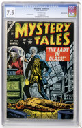 Golden Age (1938-1955):Horror, Mystery Tales #24 White Mountain pedigree (Atlas, 1954) CGC VF- 7.5Off-white pages....