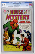 Silver Age (1956-1969):Mystery, House of Mystery #109 (DC, 1961) CGC VF+ 8.5 Off-white to whitepages....