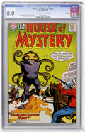 Silver Age (1956-1969):Horror, House of Mystery #130 Northland pedigree (DC, 1963) CGC VF 8.0Off-white to white pages....