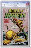 Silver Age (1956-1969):Mystery, House of Mystery #133 (DC, 1963) CGC VF+ 8.5 Off-white to whitepages....