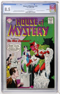 Silver Age (1956-1969):Mystery, House of Mystery #142 Northland pedigree (DC, 1964) CGC VF+ 8.5Off-white to white pages....