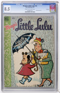 Golden Age (1938-1955):Humor, Marge's Little Lulu #10 File Copy (Dell, 1949) CGC VF+ 8.5 Cream to off-white pages....