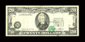 Fr. 2075-H $20 1985 Federal Reserve Note. Very Fine