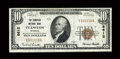 National Bank Notes:Wyoming, Evanston, WY - $10 1929 Ty. 1 The Evanston NB Ch. # 8612. ...