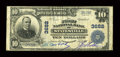 National Bank Notes:North Carolina, Statesville, NC - $10 1902 Plain Back Fr. 626 The First NB Ch. # 3682. ...