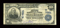 National Bank Notes:Colorado, Arvada, CO - $10 1902 Plain Back Fr. 624 The First NB Ch. #(W)7501. ...