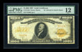 Large Size:Gold Certificates, Fr. 1219d $1000 1907 Gold Certificate PMG Fine 12....